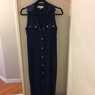 Michael Kors Long Dress, Size Small