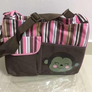 Cutie Monkey Brand New Mummy Bag