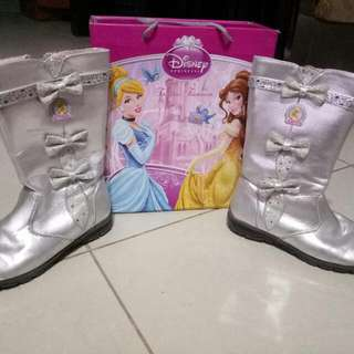 Barbie Silver Boots