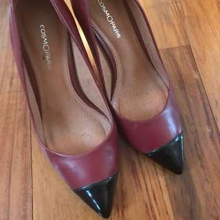 Cosmo Paris - Pointed Court Shoes - 38 (galeries lafayette)