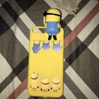 Minion pop up case iphone 7+