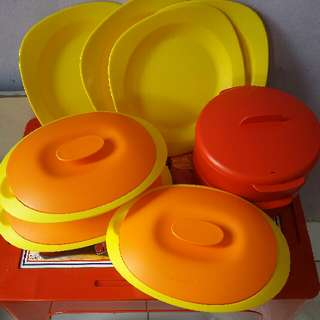 Tupperware new and second