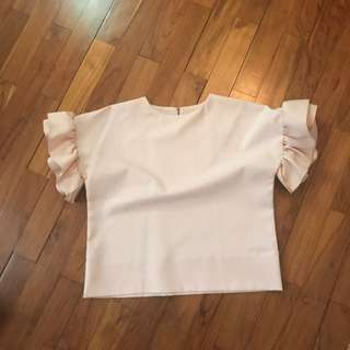 Slovv - Pink Ruffles Top - fit to M