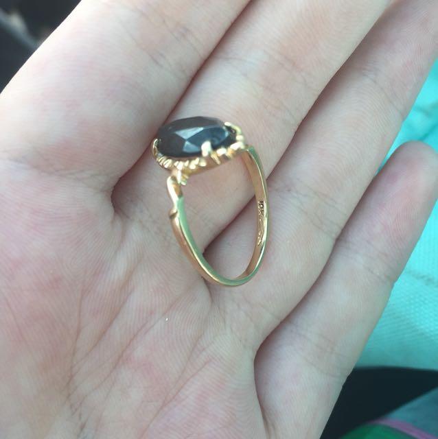 10 k gold ring