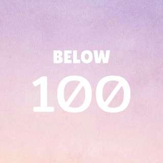 Below P100!! ❤
