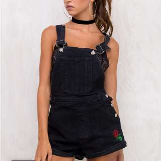 MOTEL ROCKS DUNGAREES FROM PRINCESS POLLY