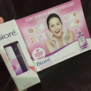 Biore Cleansing Oil - Sample size only
