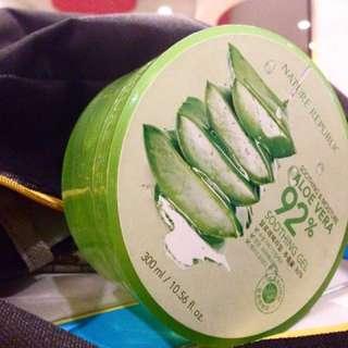 ORIGINAL Nature Republic Aloe Vera 92% Shooting Gel Skincare Korea