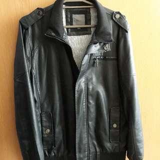 Maldita Leather Biker Jacket