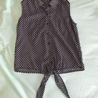 mineola sleeveless shirt