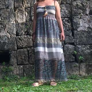 TRIBAL BEACH DRESS