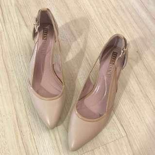 ORIGINAL Ellen Tracy Dark Beige Shoes