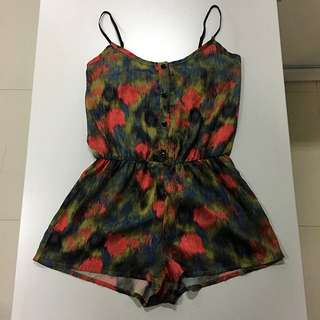 Abstract Romper