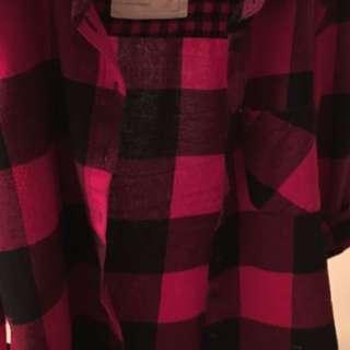 Garage boyfriend flannel shirt