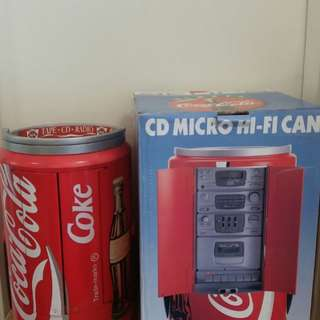 可口可樂绝版CD机