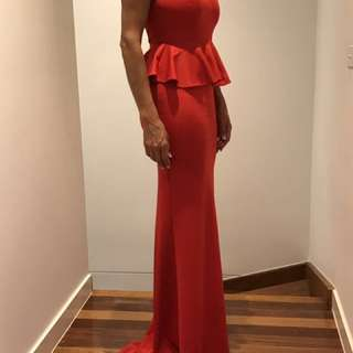 Formal Long Red Dress
