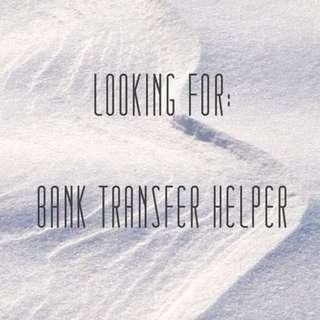 LF bank transfer helper