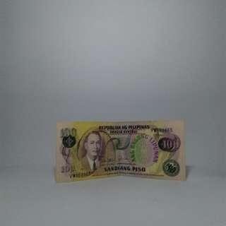 100 Peso Bill