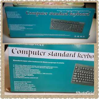 Computer Wired Keyboard