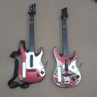 Nintendo Wii Guitar and remote, Metallica