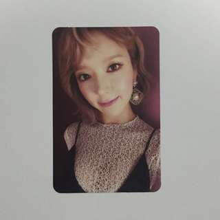 AOA Angel's Knock Choa Photocard