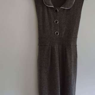 Knit material clothes