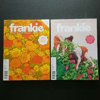 Frankie Magazines 2 For $10