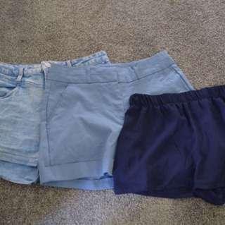 Shorts size 8-10