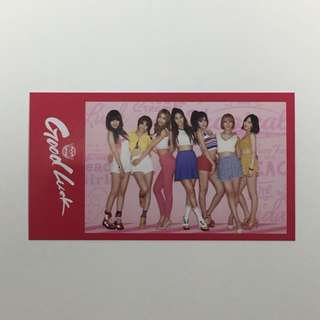 AOA Good Luck Group Photocard (Japanese Version)