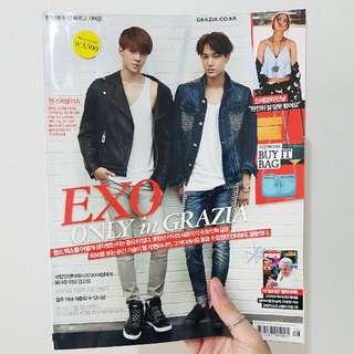 Korea Grazia Magazine (EXO Sehun & Kai)