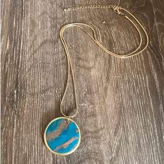 Clay Galaxy Necklace