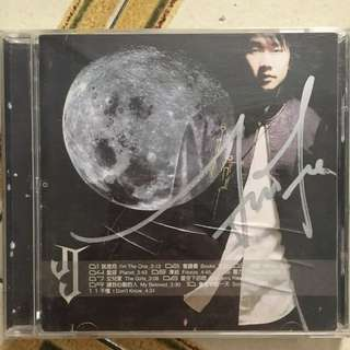 JJ Lin album with his signature