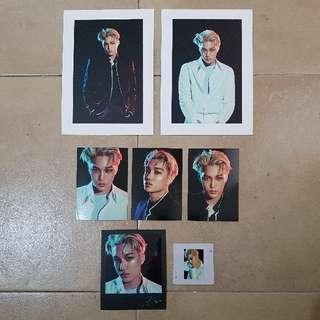 EXO Kai Exo'rdium Photocard/Polaroid Set
