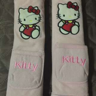 Hello kitty Seat belt accesories
