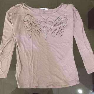 Promod light pink top
