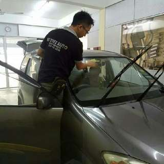 tinted kereta berkualiti