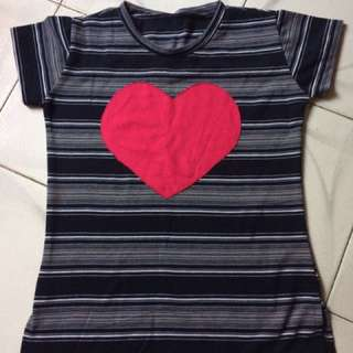 Heart Stripe Shirt