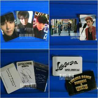 OFFICIAL Donghae Eunhyuk Ryeowook Sungmin PC