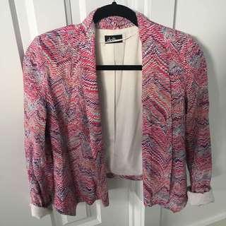 Pink Blazer size 6