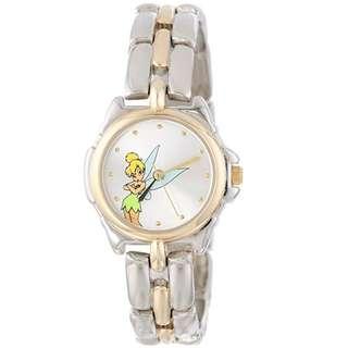 Disney   Tinkerbell Silver  Bracelet Watch