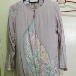 Batik Crepe Kurung Moden