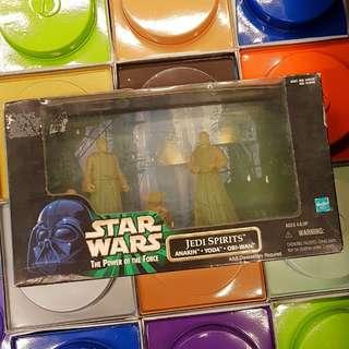 Collectible Star Wars Jedi Spirits