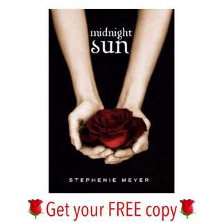 #FREE Midnight Sun Stephenie Meyer Ebook