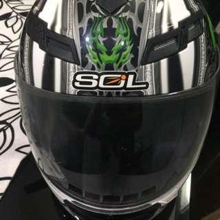 Fullface helmet SOL brand