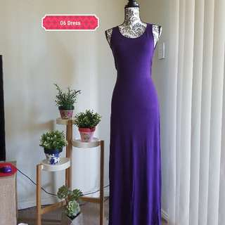 Size small summer long dress
