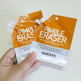 QuickFX Pimple Eraser Bundle (Sample Size)