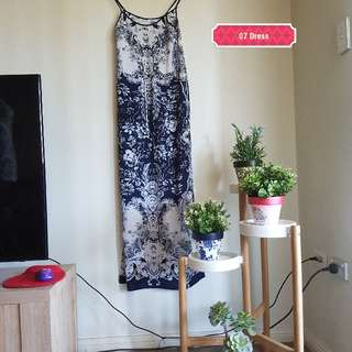 Size 8 Long summer dress