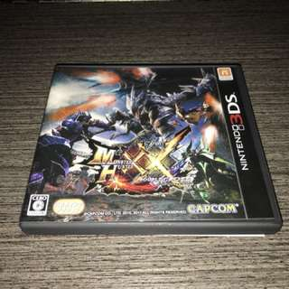 [日版 3DS] Monster Hunter XX