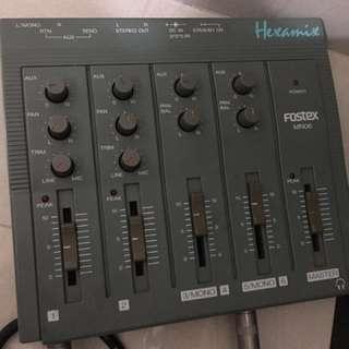 Fostex hexamix sub mixer MN-06