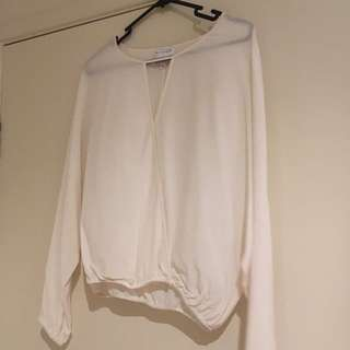 Witchery silk blouse